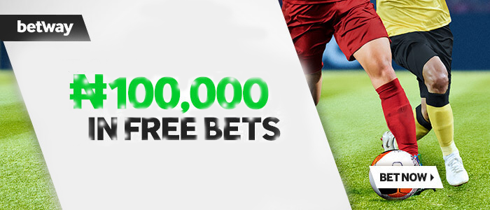 Don't miss out on Betway Nigeria Welcome Bonus!
